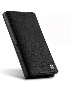 Xundd iPhone 8 / iPhone 7 Portemonnee Hoesje Zwart Leder Uit de Gentleman Serie van Xundd