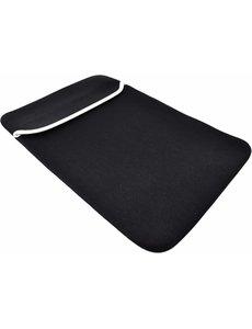Merkloos Zwart Universele 11 inch Laptop / Tablet Soft Sleeve MacBook 11 inch