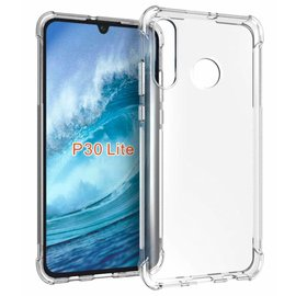 Ntech Ntech Huawei P30 liteTransparant Anti Burst Hoesje / Shock Proof Crystal Clear TPU Case