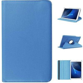 Merkloos Samsung Galaxy Tab A 10.1 draaibare hoes Licht Blauw