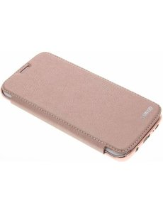 Xundd Roze crystal slim book case Samsung Galaxy S7 Edge