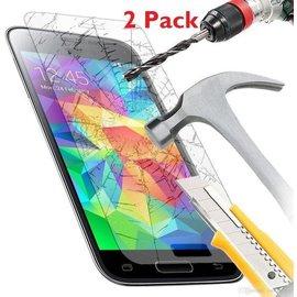 Merkloos 2 Pack - Samsung Galaxy S5 Glazen tempered glass / screen protector