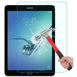 Merkloos Tempered Glass Screenprotector geschikt voor Samsung Galaxy Tab S2 9.7