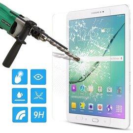Merkloos Samsung Galaxy Tab S2 9.7 inch glazen Screen protector Tempered Glass 2.5D 9H (0.3mm)