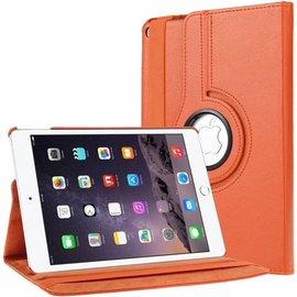 Ntech Ntech Apple iPad 9.7 (2018-2017) hoesje Case Cover 360° draaibaar Multi stand Oranje
