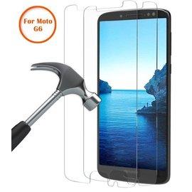 Merkloos 2 Pack - Motorola Moto G6 Beschermglas Screen Protector