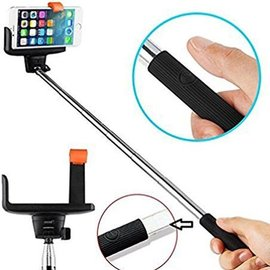 KJstar KJstar - Selfie Stick Zelfportret Uitschuifbare Monopod met draadloze