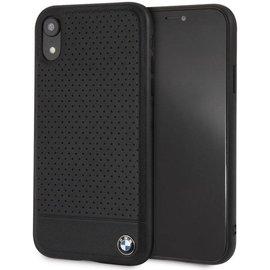 BMW iPhone XR hoesje - BMW - Zwart - Leer