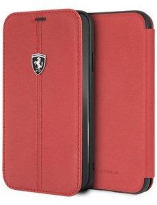 Ferrari Ferrari luxe boekmodel voor iPhone XR - Rood