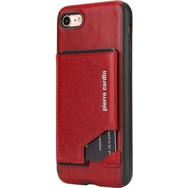 Pierre Cardin Pierre Cardin silicone backcover voor Apple iPhone 7/8 Plus - Rood