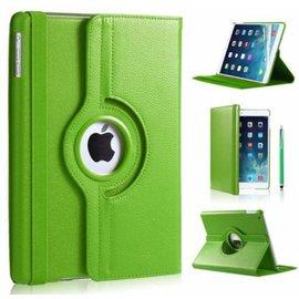 Ntech Ntech Apple iPad 9.7 (2017 / 2018) Hoes Case Cover 360° draaibaar Multi stand Groen
