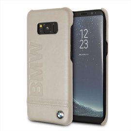 BMW BMW Backcover siliconen voor Galaxy S8 - Taupe