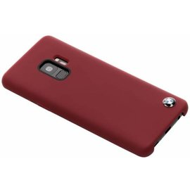BMW BMW silicone backcover voor Galaxy S9 - Rood