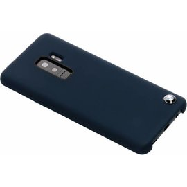 BMW BMW silicone backcover voor Galaxy S9 Plus - Navy