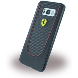 Ferrari Pit Stop Carbon Hardcover Samsung Galaxy S8 Plus