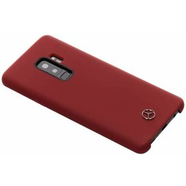 Mercedes Mercedes-Benz silicone backcover voor Galaxy S9 Plus - Rood