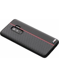 BMW BMW silicone backcover voor Samsung Galaxy S9 Plus - Rood