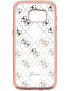 Guess Guess Samsung Galaxy S7 edge Chique TPU case - Rose Gold
