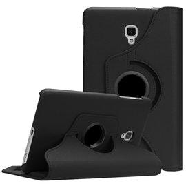 Ntech Ntech Samsung Galaxy Tab A 8.0 inch T380-T385 Hoes Book Cover 360° draaibaar Multi stand Zwart