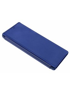 Ntech Ntech Donker Blauw LED Flip Cover Hoesje voor Samsung Galaxy S10
