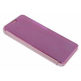 Ntech Ntech Rose Goud LED Flip Cover Hoesje voor Samsung Galaxy S10e