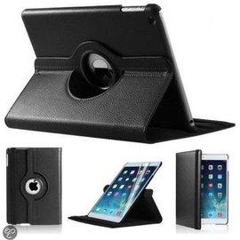 Merkloos iPad Mini 1 2 en 3 hoesje Cover Multi-stand Case 360 graden draaibare Beschermhoes Zwart