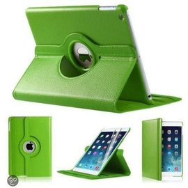 Merkloos iPad Mini 2 Hoes Cover Multi-stand Case 360 graden draaibare Beschermhoes Groen