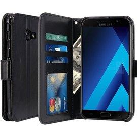 Merkloos Cyclone Cover wallet case hoesje Samsung Galaxy A5 2017 zwart