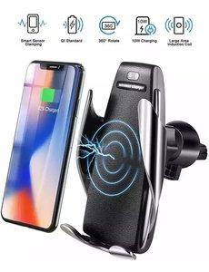 Merkloos Smart Sensor Universele Telefoonhouder voor alle Smartphones & Met Wireless Charger & USB Type-C Kabel
