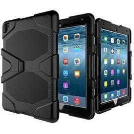 Merkloos Survivor Tough Shockproof Full Body case hoesje zwart iPad 2,3,4