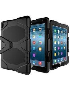 Merkloos Survivor Tough Shockproof Full Body case hoesje zwart iPad 2 3 en 4