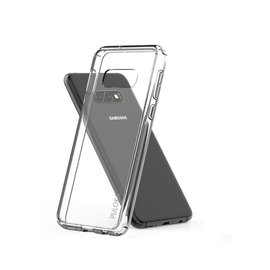 Puloka Puloka Samsung Galaxy S10 Transparant Hoesje Durable Flexible & Scratch Resistent Clear TPU Case