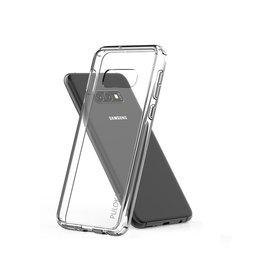 Puloka Puloka Samsung Galaxy S10+ (Plus) Transparant Hoesje Durable Flexible & Scratch Resistent Clear TPU Case