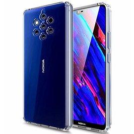 Ntech Ntech Nokia 9 PureView Transparant Hoesje Durable Flexible & Scratch Resistent Clear TPU Case