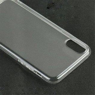 Merkloos Hoesje voor Apple iPhone XR, gel case, doorzichtig