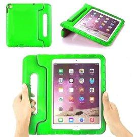 Merkloos iPad hoes voor kinderen - iPad mini 1/2/3 - GROEN - foam kids cover