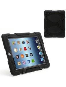 Merkloos SMH Royal - Survivor Tough Combo Case voor iPad 2 / 3 / 4 Hoesje / Cover / hoesje / Tablethoes | Zeer sterk en robuust - Zwart