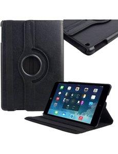 Merkloos Draaibare hoesje geschikt voor iPad 2 / 3 en 4 zwart