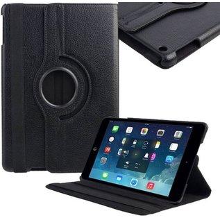 Merkloos Draaibare hoes geschikt voor iPad 2 / 3 en 4 zwart