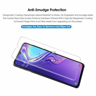 Ntech Ntech 2Pack Samsung Galaxy M20 Screen Protector-9H HD clarity Hardness Tempered Glass