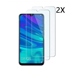 Ntech Ntech 2Pack Huawei Y6 Pro 2019 Screen Protector-9H HD clarity Hardness Tempered Glass