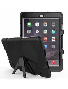 Ntech Ntech Apple iPad Air 2 Extreme Armor Hoes - Zwart