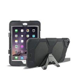 Ntech Ntech Apple iPad mini 4 Extreme Armor hoesje met standaard & 3 lagen shockproof Case-Zwart