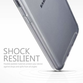 Merkloos Hoesje voor Samsung Galaxy A6 (2018), gel case, doorzichtig