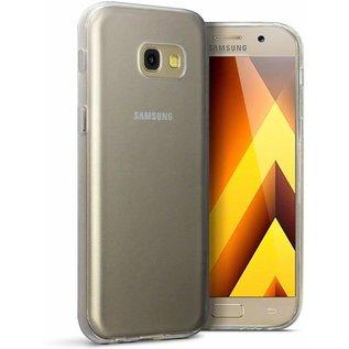 Merkloos Hoesje voor Samsung Galaxy A5 (2017), gel case, doorzichtig