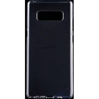 Merkloos Hoesje voor Samsung Galaxy Note 8, gel case, doorzichtig