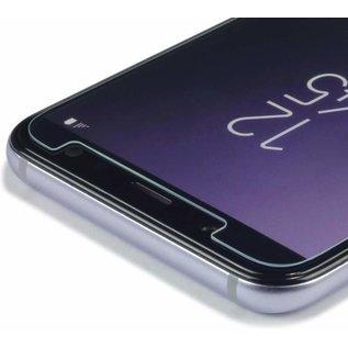 Merkloos Screenprotector voor Samsung Galaxy A6 (2018), tempered glass (glazen screenprotector)