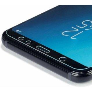 Merkloos Screenprotector voor Samsung Galaxy A6 Plus (2018) / A6+ (2018), tempered glass (glazen screenprotector)