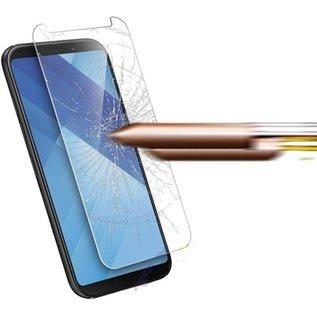 Merkloos Screenprotector voor Samsung Galaxy A8 (2018), tempered glass (glazen screenprotector)