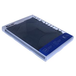 Ntech Ntech Samsung Galaxy Tab A 8.0 T385 Hybrid Armor Hoes met standaard & 3 lagen shockproof Case-Zwart